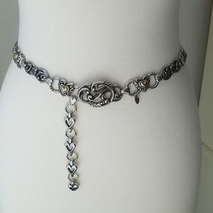 Brighton vintage chain belt